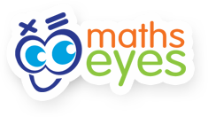 Maths eyes Logo